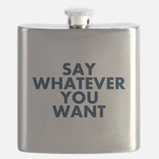 Say Whatever You Want Flask