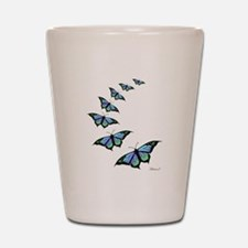 Unique Butterflies Shot Glass