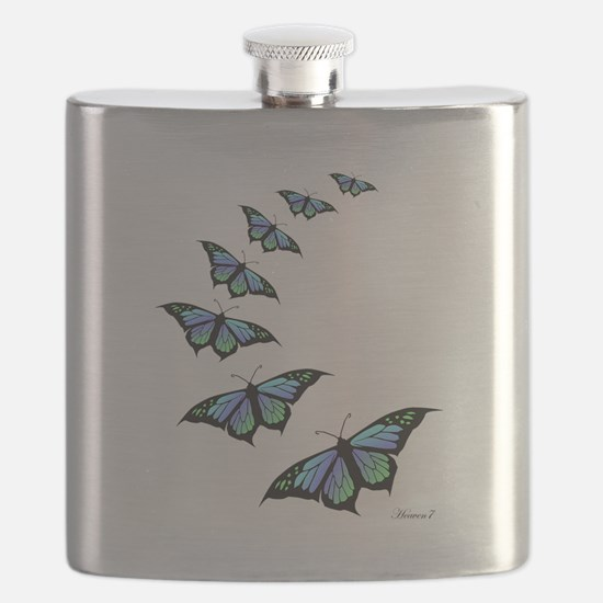 Funny Butterfly Flask