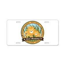 New Mom Lion Aluminum License Plate