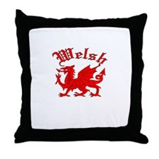 Welsh Throw Pillow