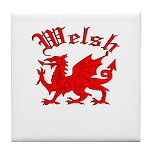 Welsh Tile Coaster