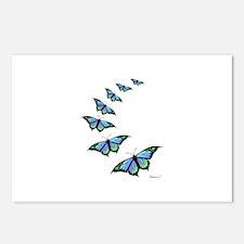 Cute Butterflies Postcards (Package of 8)