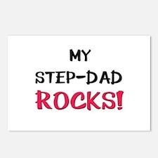 My STEP-DAD ROCKS! Postcards (Package of 8)