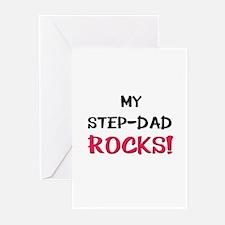 My STEP-DAD ROCKS! Greeting Cards (Pk of 10)