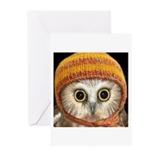 Baby Owl Greeting Cards