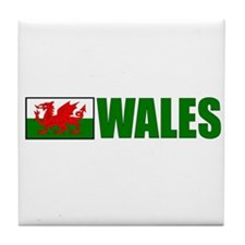 Wales Flag Tile Coaster
