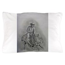Cute Cutting horses Pillow Case