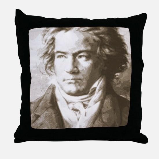 Unique Composer Throw Pillow
