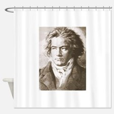 Funny Composer Shower Curtain