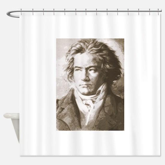 Unique Beethoven Shower Curtain