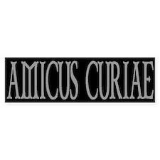 AMICUS CURIAE Bumper Bumper Sticker