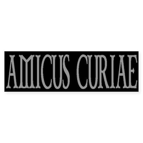 AMICUS CURIAE Bumper Sticker