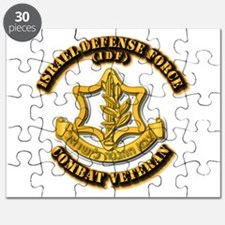 Israel Defense Force - IDF - Cbt Vet Puzzle