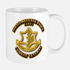 Israel Defense Force - IDF - Cbt Vet Mug