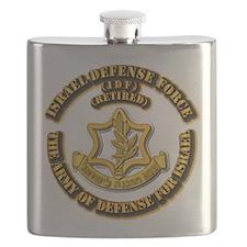 Israel Defense Force - IDF - Retired Flask