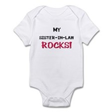 My SISTER-IN-LAW ROCKS! Infant Bodysuit
