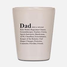 Dad definition Shot Glass