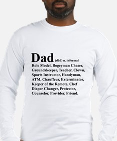 Dad definition Long Sleeve T-Shirt