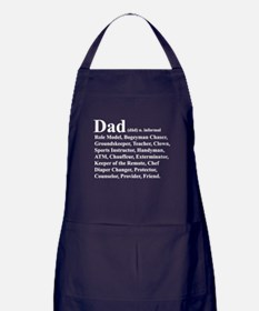 Dad definition Apron (dark)