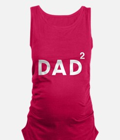 Dad of twins Maternity Tank Top
