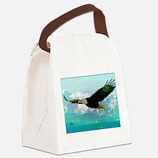 Cute Eagle Canvas Lunch Bag