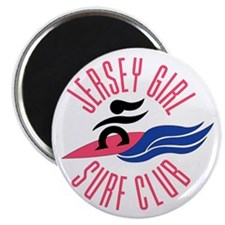 Jersey Girl Surf Club Magnet
