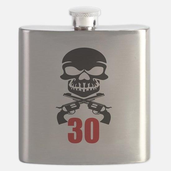 30 Birthday Designs Flask