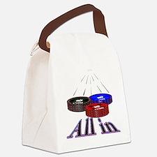 Cute Casino Canvas Lunch Bag
