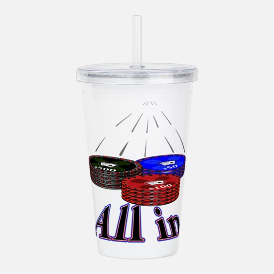 Cute Roulette Acrylic Double-wall Tumbler