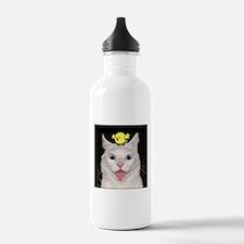Crazy Cat Water Bottle
