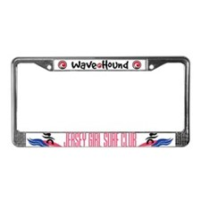 Jersey Girl Surf Club License Plate Frame