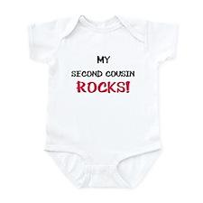 My SECOND COUSIN ROCKS! Infant Bodysuit
