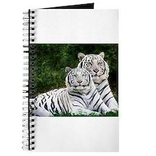 Unique White tiger Journal