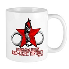 The Red Light District by CMVernon Mugs