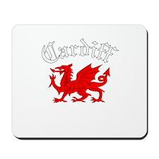 Cardiff, Wales Mousepad