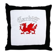 Cardiff, Wales Throw Pillow