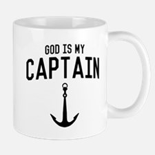 God Is My Captain Mugs