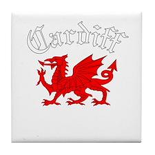 Cardiff, Wales Tile Coaster