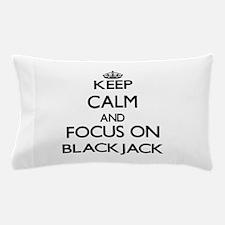Unique Blackjack Pillow Case