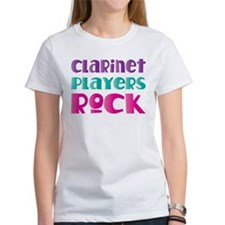 clarinet players rock 2010 T-Shirt