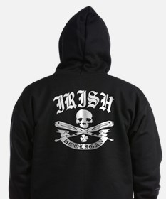 Irish Hooligan Zip Hoody