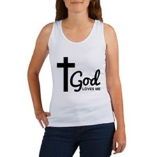 God Loves Me Tank Top