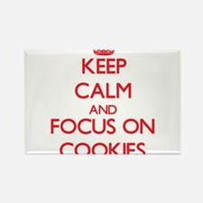Keep Calm and focus on Cookies Magnets