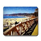 Pacific palisades Mouse Pads