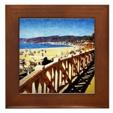 Santa Monica Framed Tile