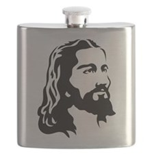 Jesus Face Flask