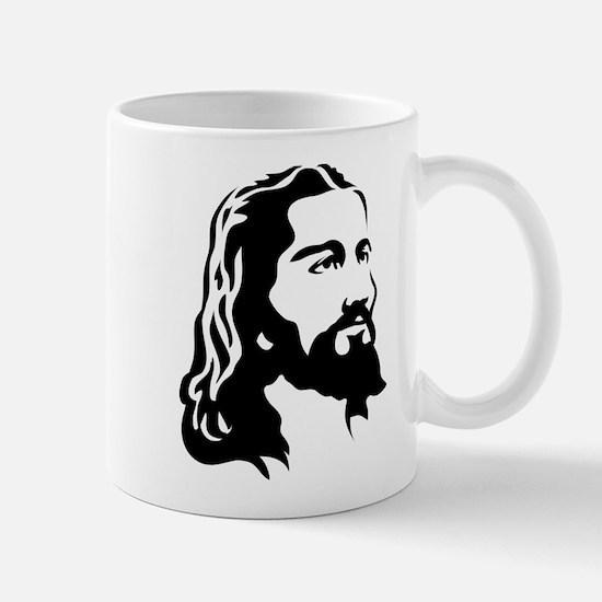 Jesus Face Mugs