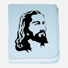 Jesus Face baby blanket