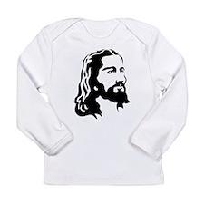 Jesus Face Long Sleeve T-Shirt